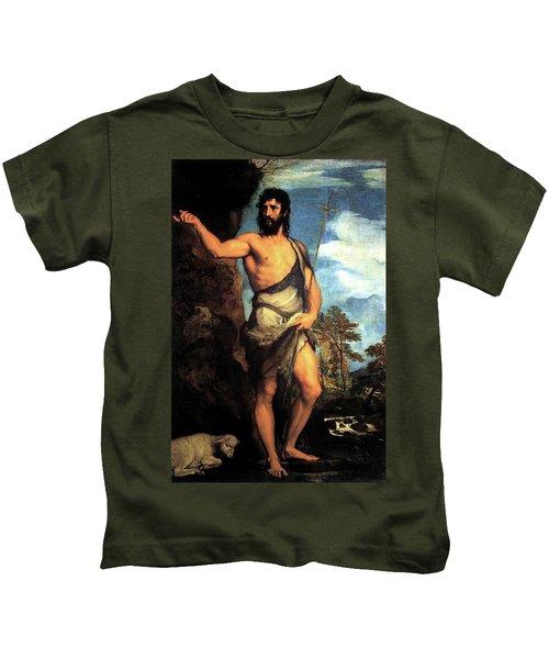 John The Baptist Kids T-Shirt