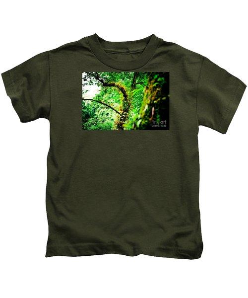 Jungle Annapurna Yatra Himalayas Mountain Nepal Kids T-Shirt