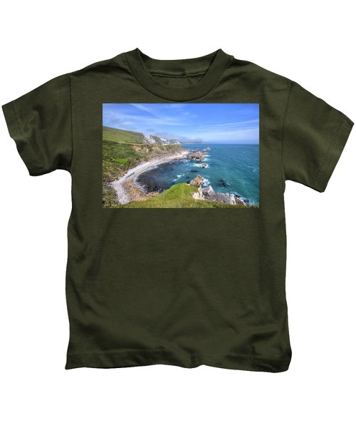 Jurassic Coast - England Kids T-Shirt