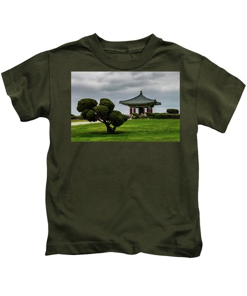 Korean Bell Of Friendship Kids T-Shirt