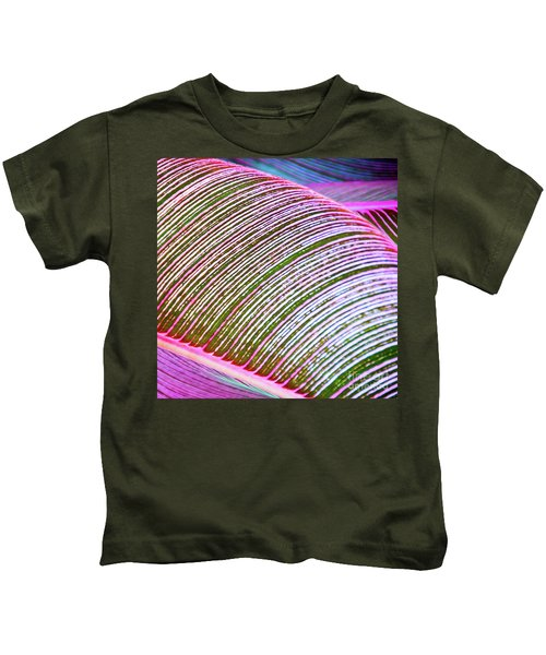 Leaves In Color  Kids T-Shirt