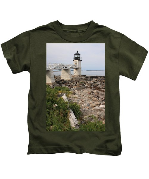 Marshall Point Lighthouse Kids T-Shirt
