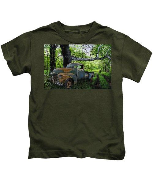The Ol' Mushroom Hauler Kids T-Shirt