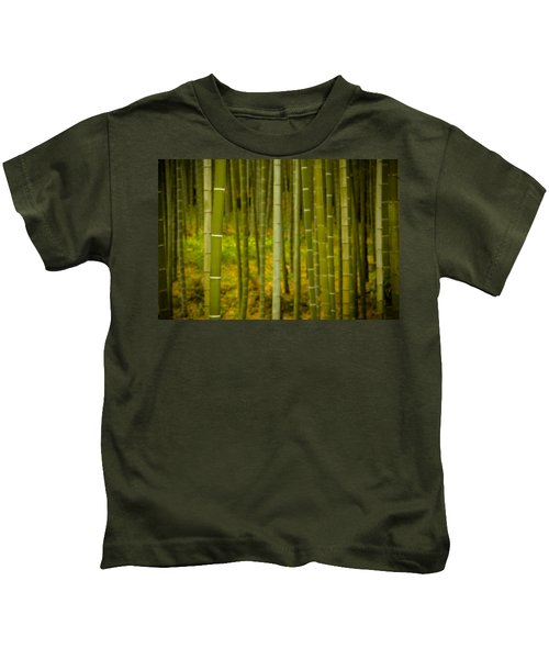 Mystical Bamboo Kids T-Shirt