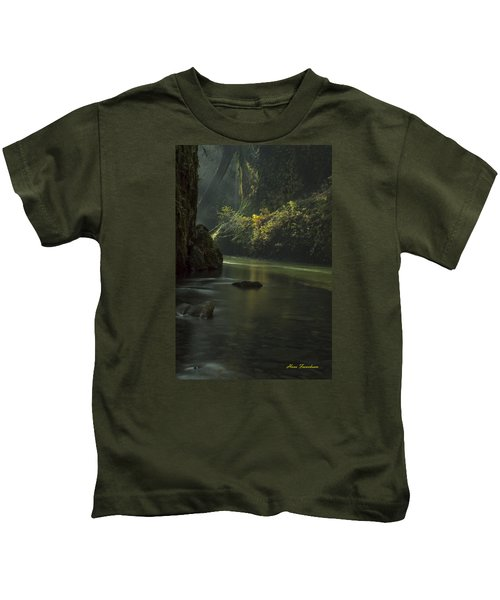 Mystical Canyon Signed Kids T-Shirt