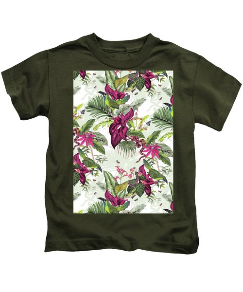 Nicaragua Kids T-Shirt by Jacqueline Colley