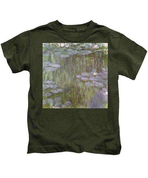Nympheas At Giverny Kids T-Shirt