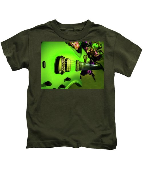 Parker Fly Guitar Hover Series Kids T-Shirt