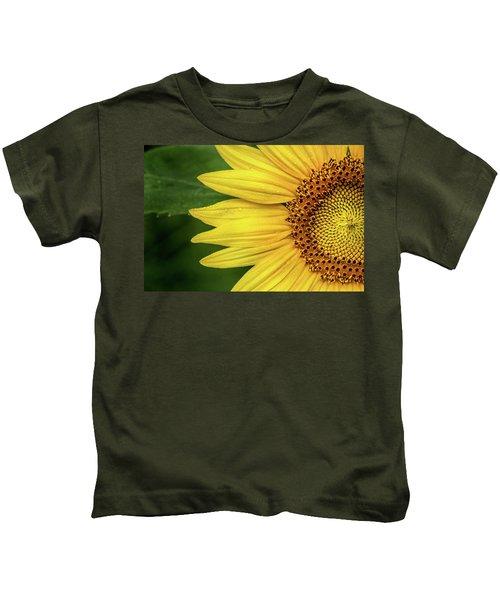 Partial Sunflower Kids T-Shirt