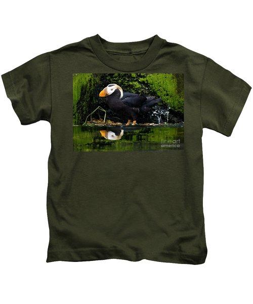 Puffin Reflected Kids T-Shirt