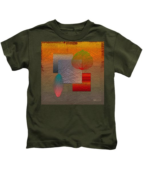 Quiet Sunset At The End Of Northern Summer  Kids T-Shirt