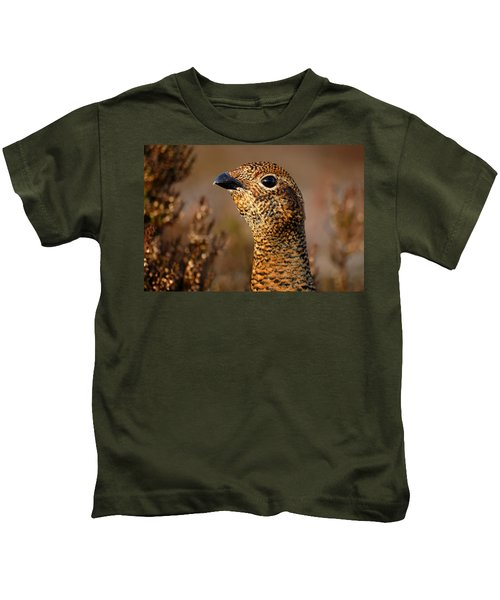 Red Grouse  Kids T-Shirt