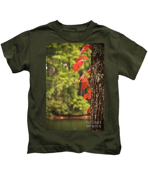 Scenic Elder Lake Kids T-Shirt