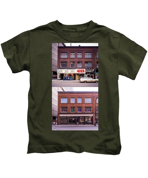 Something's Going On At The Greeting Card Center. Kids T-Shirt