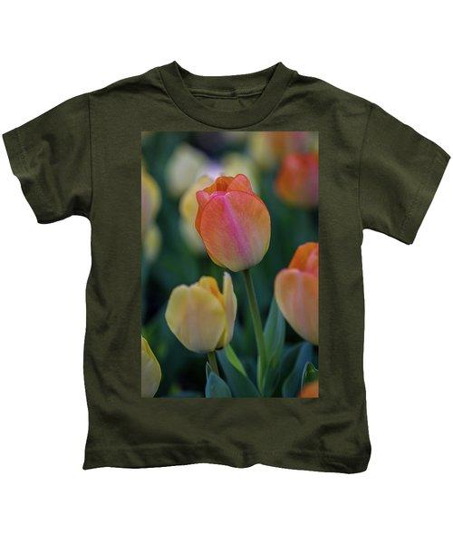Spring Tulip Kids T-Shirt