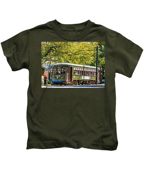 St. Charles Ave. Streetcar 2 Kids T-Shirt