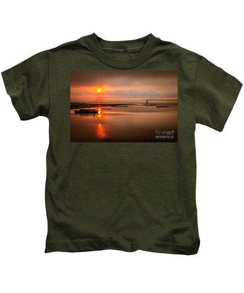 Sunrise Reflections Kids T-Shirt