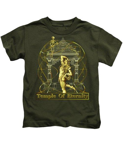 Temple Of Eternity Kids T-Shirt