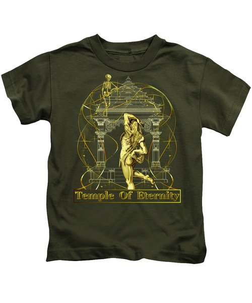 Temple Of Eternity Kids T-Shirt