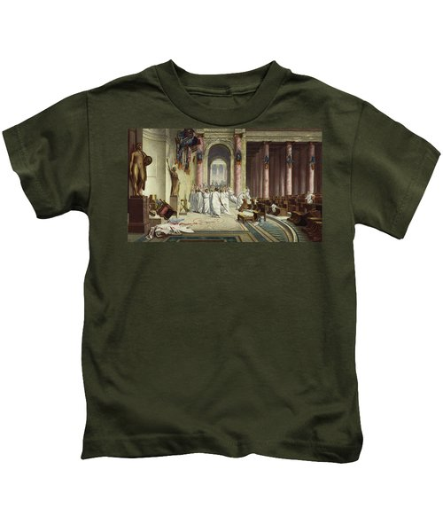 The Death Of Caesar Kids T-Shirt