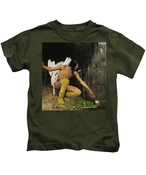 The Indian And The Lily Kids T-Shirt