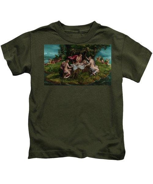The Infancy Of Jupiter Kids T-Shirt