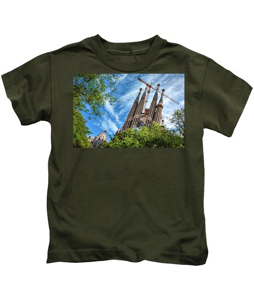 The Sagrada Familia Kids T-Shirt