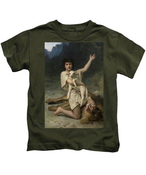 The Shepherd David Triumphant Kids T-Shirt