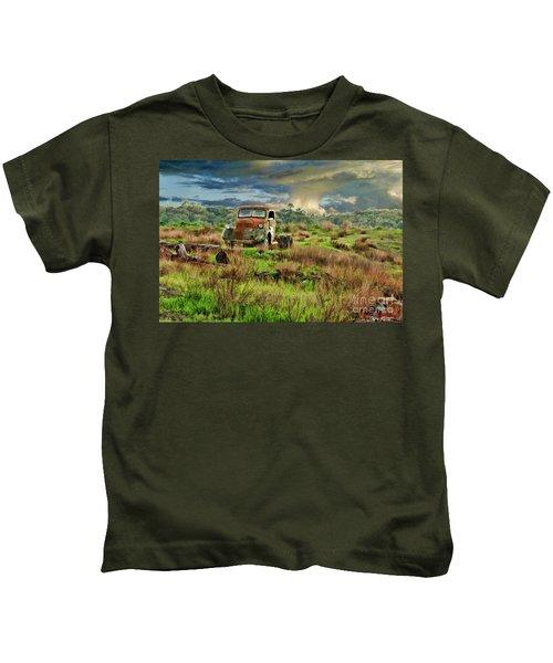Tornado Truck Kids T-Shirt
