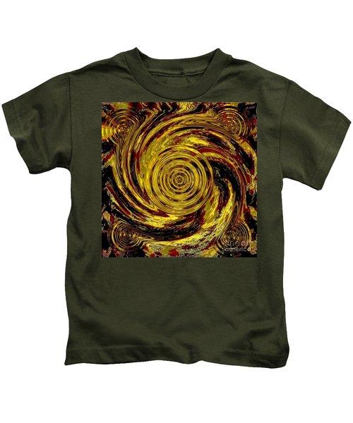 Total Water Swirl Effect Kids T-Shirt