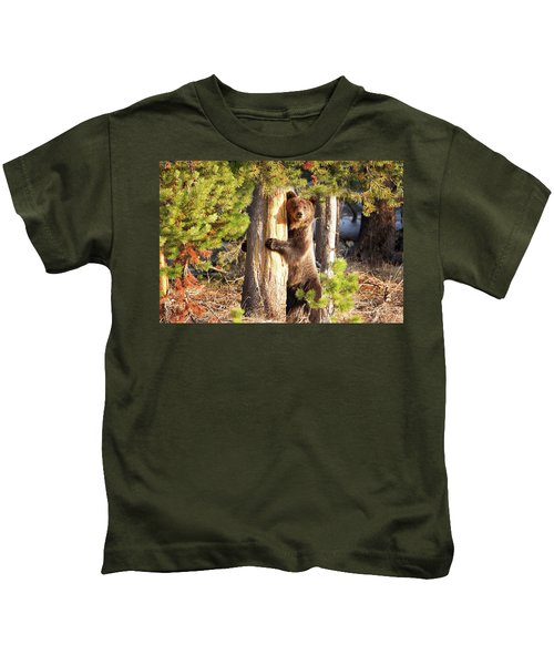 Tree Hugger Kids T-Shirt