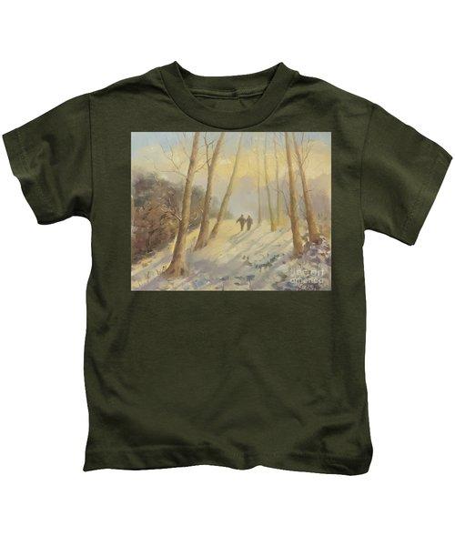 Walking In Sunshine Kids T-Shirt