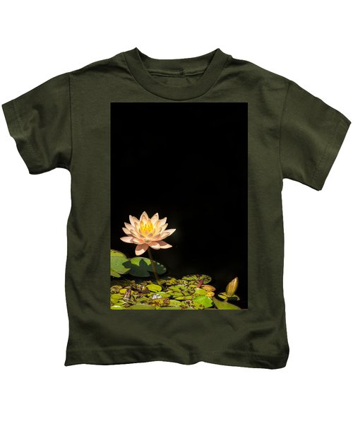 Water Lily Kids T-Shirt
