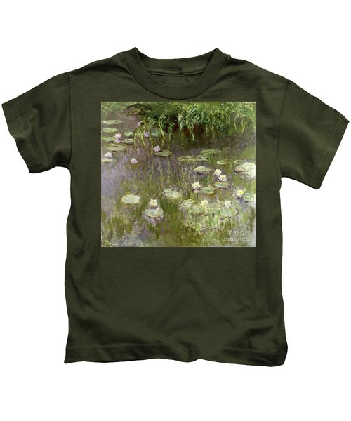Waterlilies At Midday Kids T-Shirt
