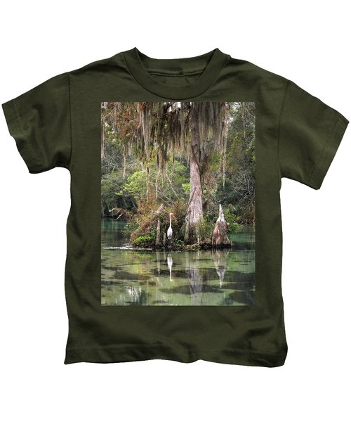 Weeki Wachee River Kids T-Shirt