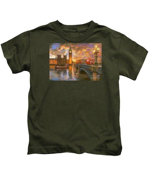 Westminster Sunset Kids T-Shirt