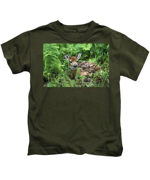 White-tailed Deer Odocoileus Kids T-Shirt