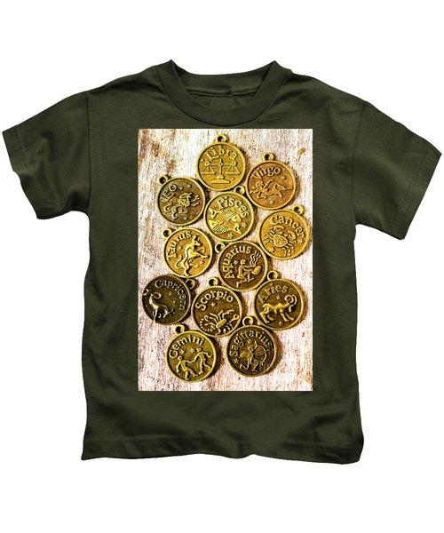 12 Wonders Of The Zodiac  Kids T-Shirt