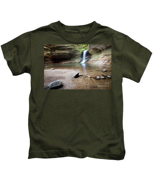 1329 Cascade Falls Kids T-Shirt