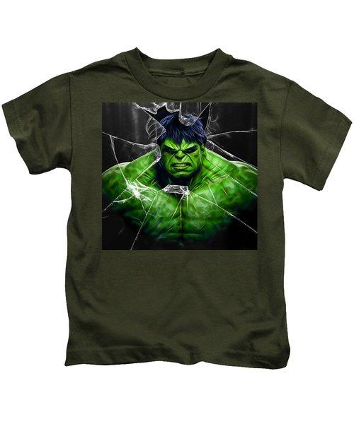 The Incredible Hulk Collection Kids T-Shirt