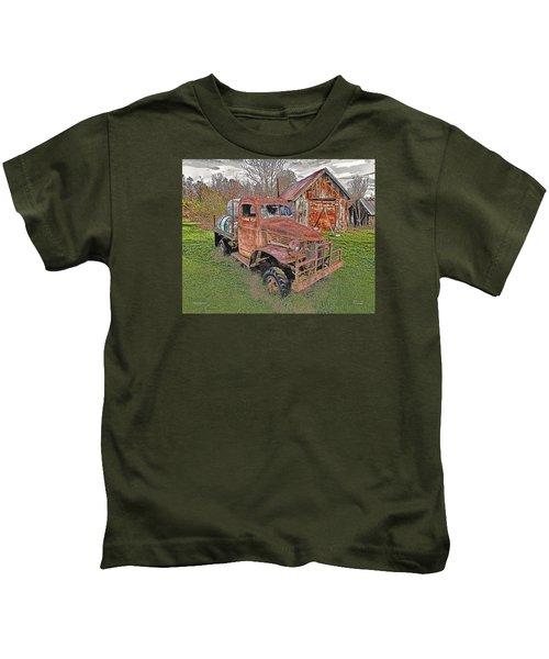 1941 Dodge Truck #2 Kids T-Shirt