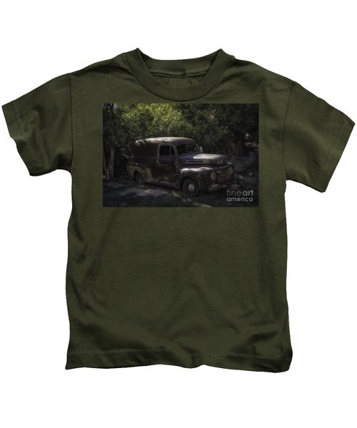 1950 Ford Panel Truck  Kids T-Shirt