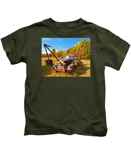 1950 Gmc Truck Kids T-Shirt