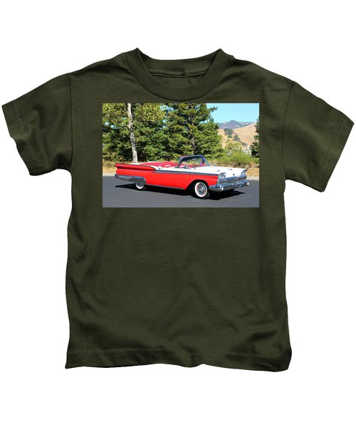 1959 Ford Fairlane 500 Kids T-Shirt