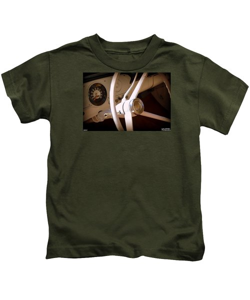 1966 Ford F100 Interior Kids T-Shirt