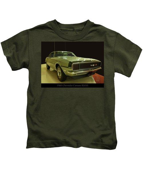 1968 Chevy Camaro Rs-ss Kids T-Shirt