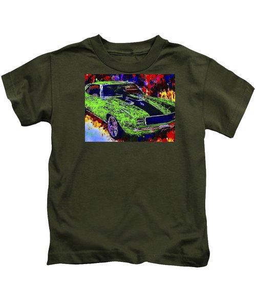 1969 Camaro Z28 Kids T-Shirt