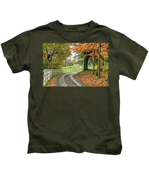 Fence Line Kids T-Shirt