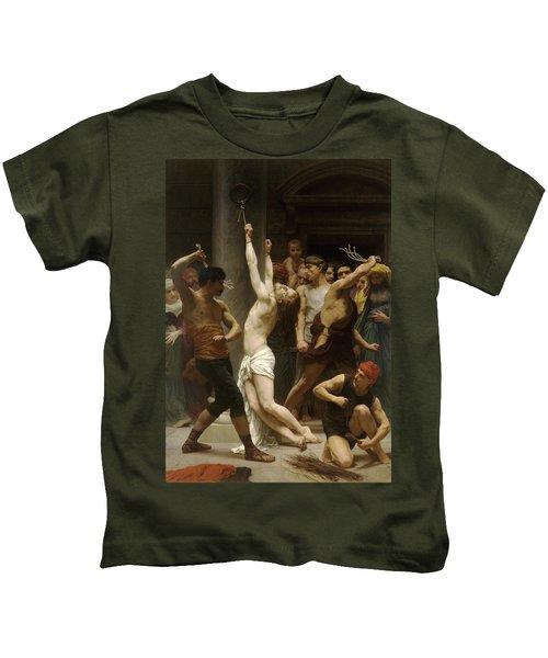 Flagellation Of Christ Kids T-Shirt