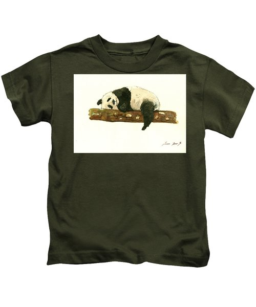 Giant Panda Kids T-Shirt